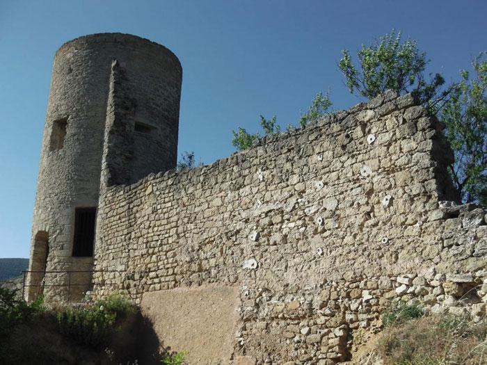 Vestige du château - Maison d'hôtes Provence